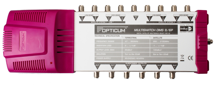 MULTISWITCH OPTICUM