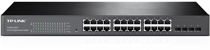 SWITCH TP-LINK <br />T1600G-28TS <br />(TL-SG2424)