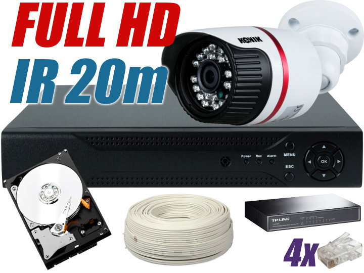 ZESTAW MONITORINGU IP 