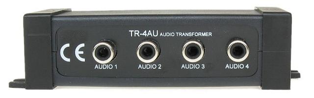 TRANSFORMATOR AUDIO  TR-4AU 600 Ω, ZASIĘG DO 1200M