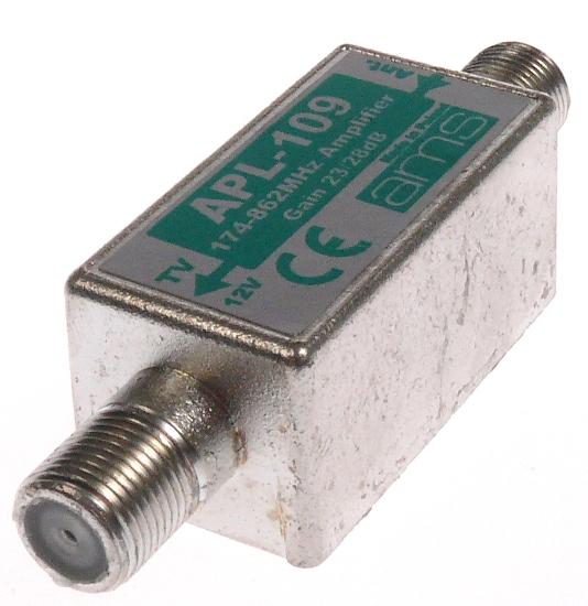 WZMACNIACZ ANTENOWY APL-109 WZMOCNIENIE 27-29 dB