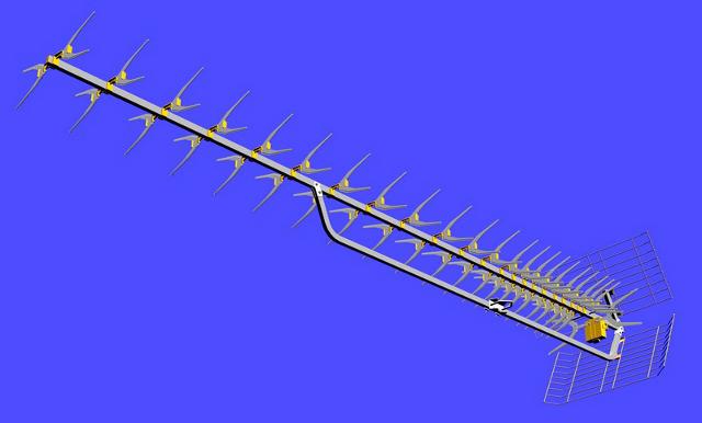 KIERUNKOWA ANTENA DVB-T ATX 91