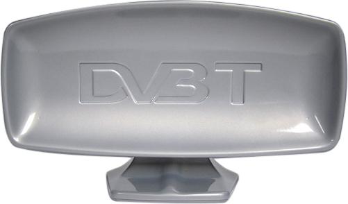 ANTENA TV WEWNĘTRZNA DVB-T TV + FM ZE WZMACNIACZEM VHF/UHF, 28 dB