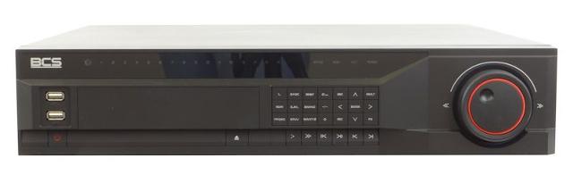 PROFESJONALNY REJESTRATOR SIECIOWY BCS-NVR1608 16 KANAŁÓW VIDEO + AUDIO PENTAPLEX, KOMPRESJA H.264, TRYB D1