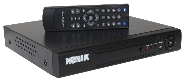 HYBRYDOWY 4 - KANAŁOWY REJESTRATOR KENIK 100 KL/S, FULL WD1 (960H) HDMI, 4 X AUDIO, 2 X USB, LAN