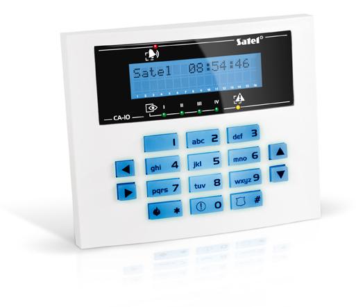 MANIPULATOR LCD CA-10 KLCD-S BLUE NIEBIESKIE PODŚWIETLENIE