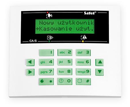 MANIPULATOR LCD CA-5 KLCD-S ZIELONE PODŚWIETLENIE