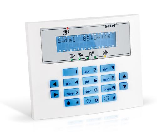 MANIPULATOR LCD INT-KLCDS-BL NIEBIESKIE PODŚWIETLENIE