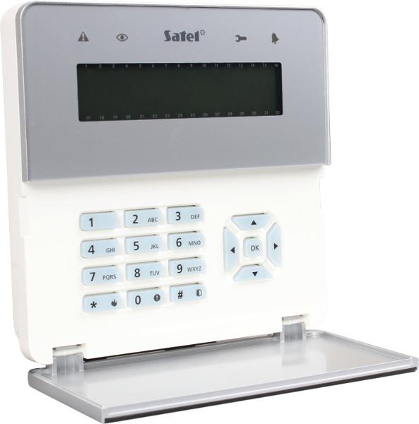 MANIPULATOR LCD SATEL INT-KLFR-SSW Z CZYTNIKIEM KART