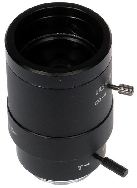 OBIEKTYW Z RĘCZNĄ PRZESŁONĄ ZOOM CS-2.8-12/MIV RI 2.8-12mm CS F=1.4