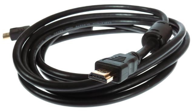 KABEL/PRZEWÓD HDMI-HDMI, 3 METRY HDMI 19pin - HDMI 19pin, WYSOKA JAKOŚĆ, FULL HD