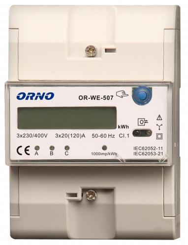 LICZNIK ENERGII ORNO OR-WE-507 3-FAZOWY