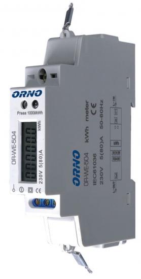 LICZNIK ENERGII ORNO OR-WE-504 1 FAZOWY