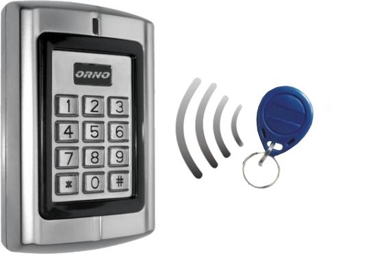 ZAMEK SZYFROWY ORNO OR-ZS-802 IP44 CZYTNIK
