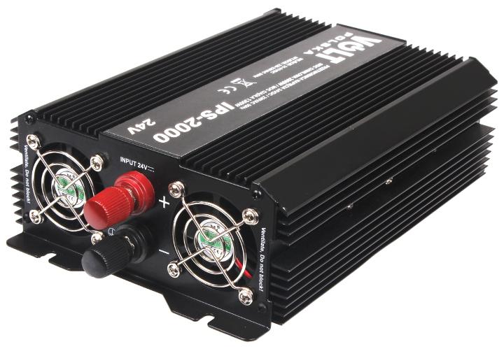PRZETWORNICA IPS-2000 24V/230V 1300/2000 W