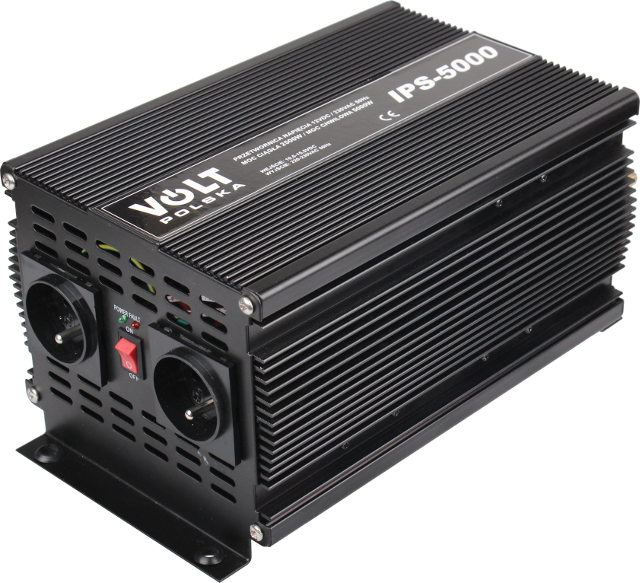 PRZETWORNICA IPS-5000 12V / 230V 2500/5000W
