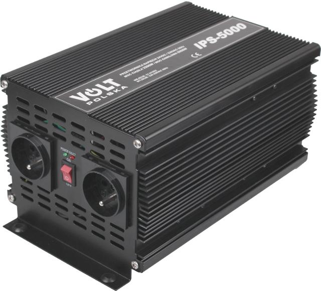 PRZETWORNICA IPS-5000 24V / 230V 2500/5000W