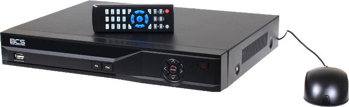 REJESTRATOR IP HYBRYDOWY BCS-DVR0801QEA-II