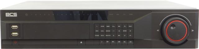 REJESTRATOR CYFROWY BCS-2408Q 24-KANAŁOWY H.264 PRĘDKOŚĆ ZAPISU = DO 600 KLATEK / S LAN - PILOT - USB - AUDIO - VIDEO - VGA