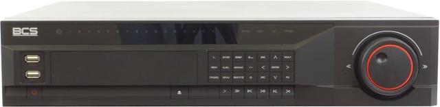 PROFESJONALNY REJESTRATOR SIECIOWY BCS-NVR16085M 16 KANAŁÓW IP