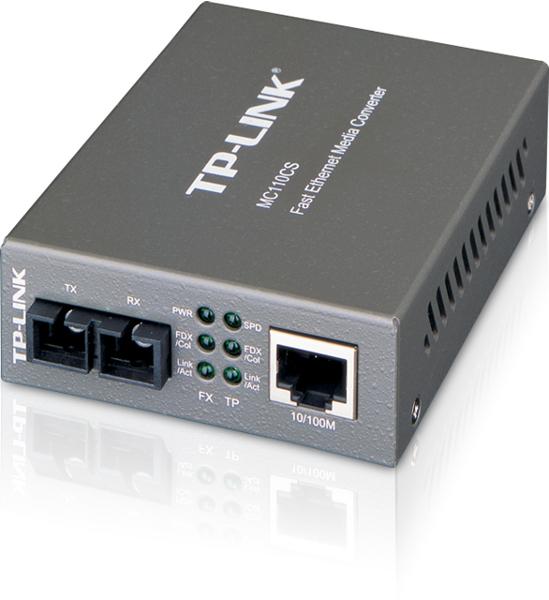 MEDIA KONWERTER TP-LINK MC110CS 1 PORT RJ45, 1 PORT SC