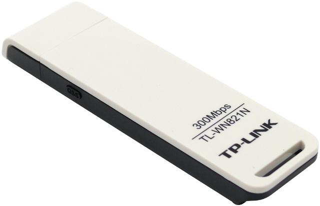 BEZPRZEWODOWY ADAPTER USB TP-LINK TL-WN821N