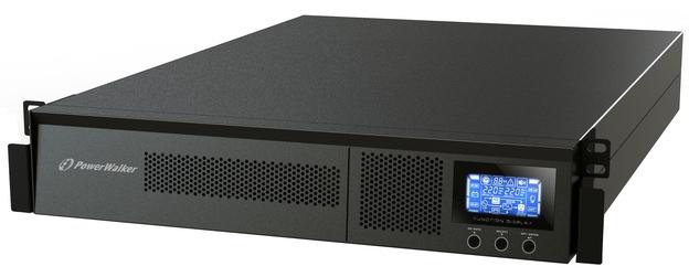 UPS POWER WALKER VFI 1000 RM LCD 1000VA, 230V PL OUT, RJ11/RJ45 IN/OUT