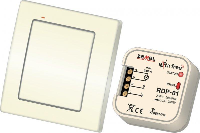Bezprzewodowy zestaw sterowania Exta Free RZB-02 (RNK02+RDP01)