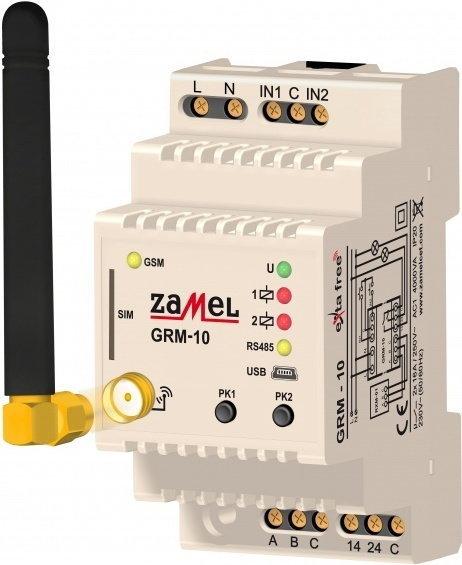 Zdalny sterownik modułowy GSM Exta Free GRM-10
