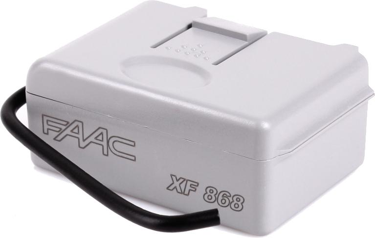 Moduł radiowy FAAC XF 868 MHz