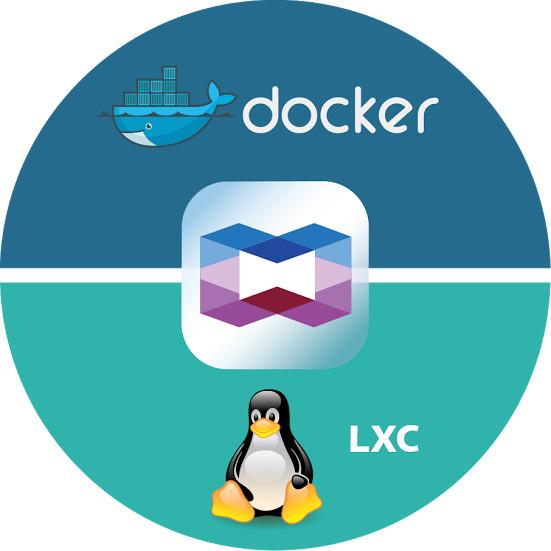 Container Station — z kontenerami LXC i Docker