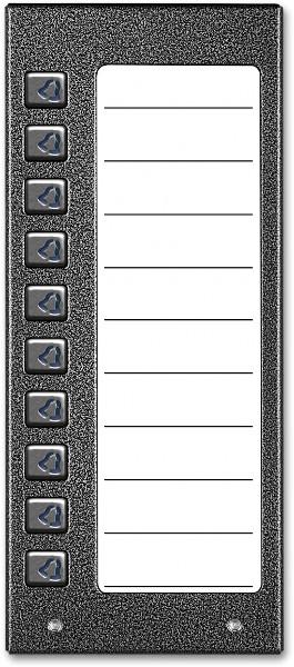 ACO CDN-10NP ST Podświetlany panel listy lokatorów z 10 przyciskami