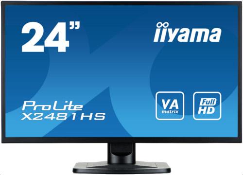 Montor LED IIYAMA  X2481HS-B1 24