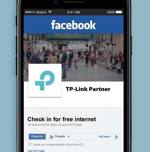Identyfikacja gości za pomocą Facebooka oraz SMS