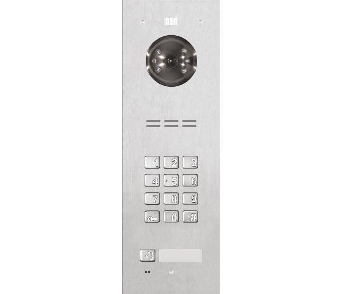 ACO FAM-PV-1NPZSACC Panel cyfrowy Familio PV Z 1 przyciskiem, zamek szyfr. podtynkowy