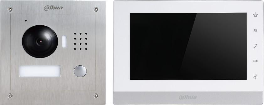 Wideodomofon IP Dahua VTK-VTO2000A-VTH1550CH(S) Natynkowy