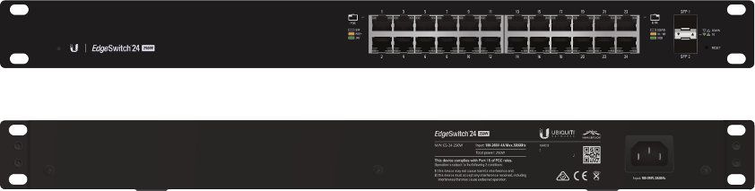 Ubiquiti Edge Switch 24-porty ES-24-LITE