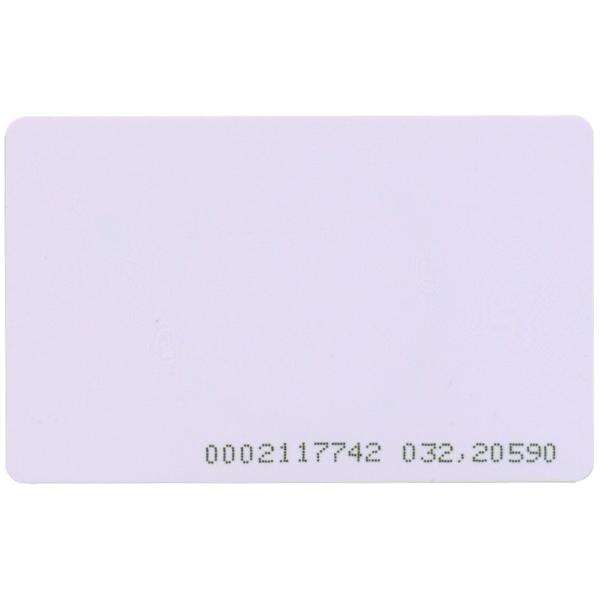 <b>25 x </b>Karta zbliżeniowa 125kHz UNIQUE PROCOMM 13595