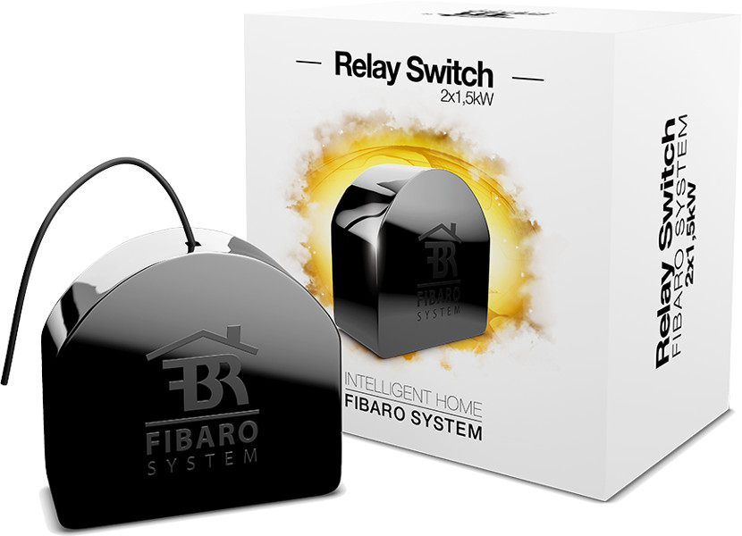 FIBARO Relay Switch ( Włącznik )  2x1.5kW FGS-221
