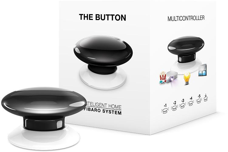 FIBARO The Button  FGPB-101-2 ( Przycisk czarny )