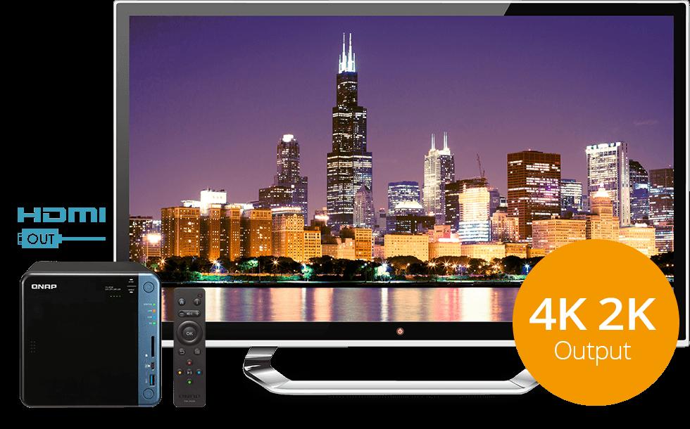 Doskonała jakość odbioru audiowizualnego dzięki sygnałowi HDMI 4K @30Hz