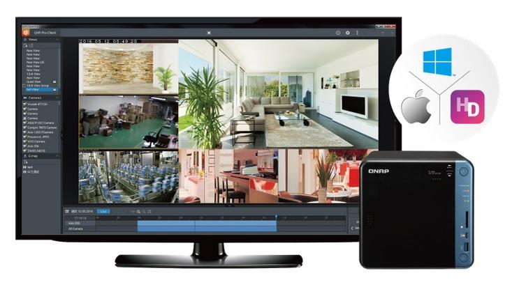 Zupełnie nowe rozwiązanie QVR Pro do monitoringu