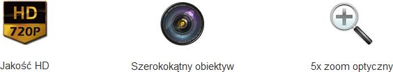 kamera ip wifi overmax camspot 4.8 720p hd 15360