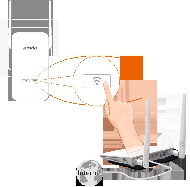 Przycisk Wi-Fi Clone umożliwiający łatwe skonfigurowanie sieci bezprzewodowej poprzez skopiowanie ustawień istniejącej sieci