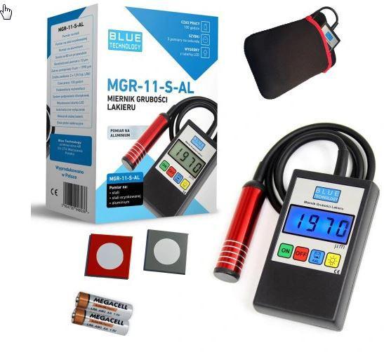 Miernik grubości lakieru MGR-11-S-AL
