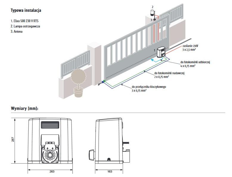 Instalacja i wymiary