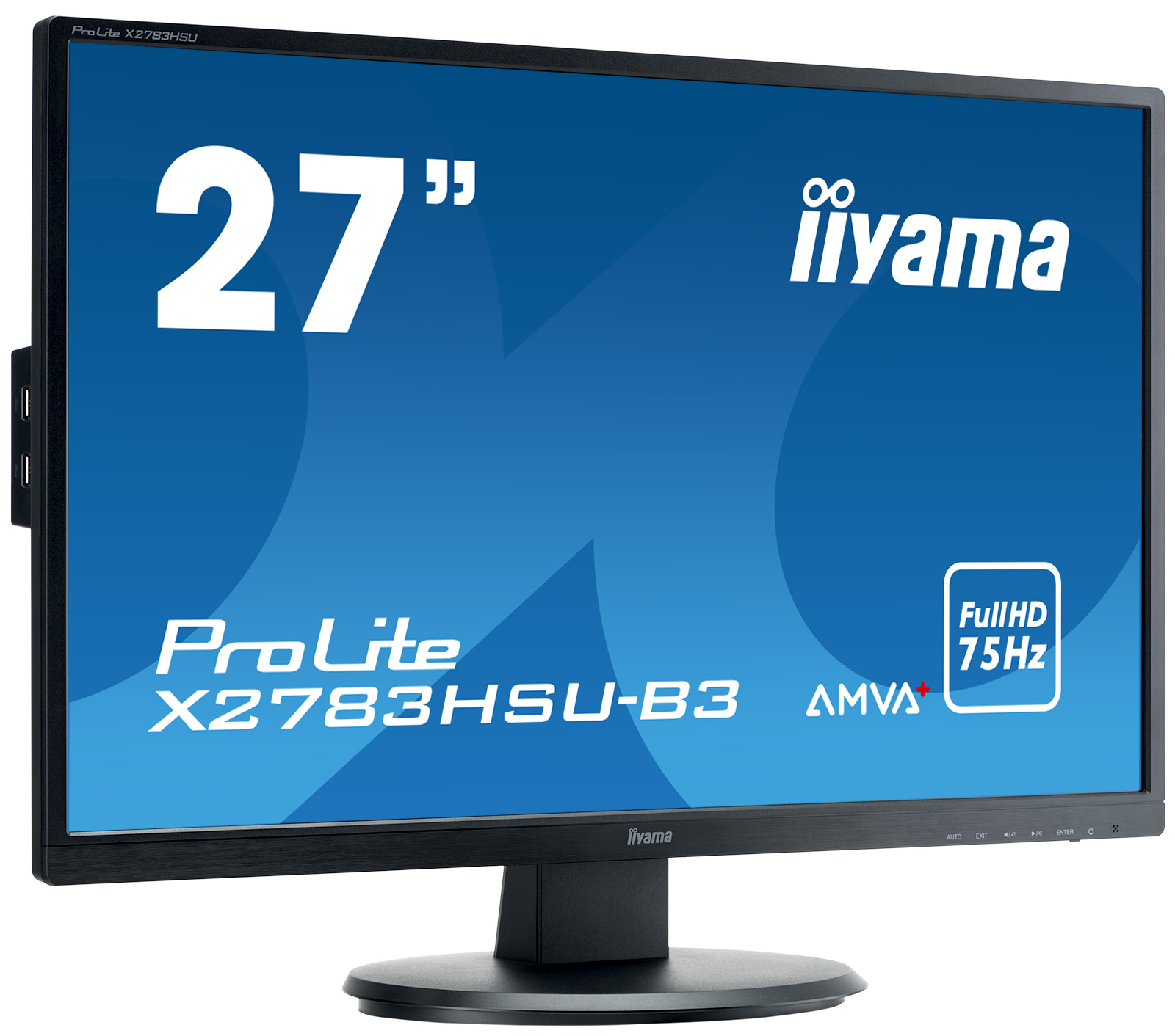 Monitor LED IIYAMA X2783HSU-B3HDMI DisplayPort