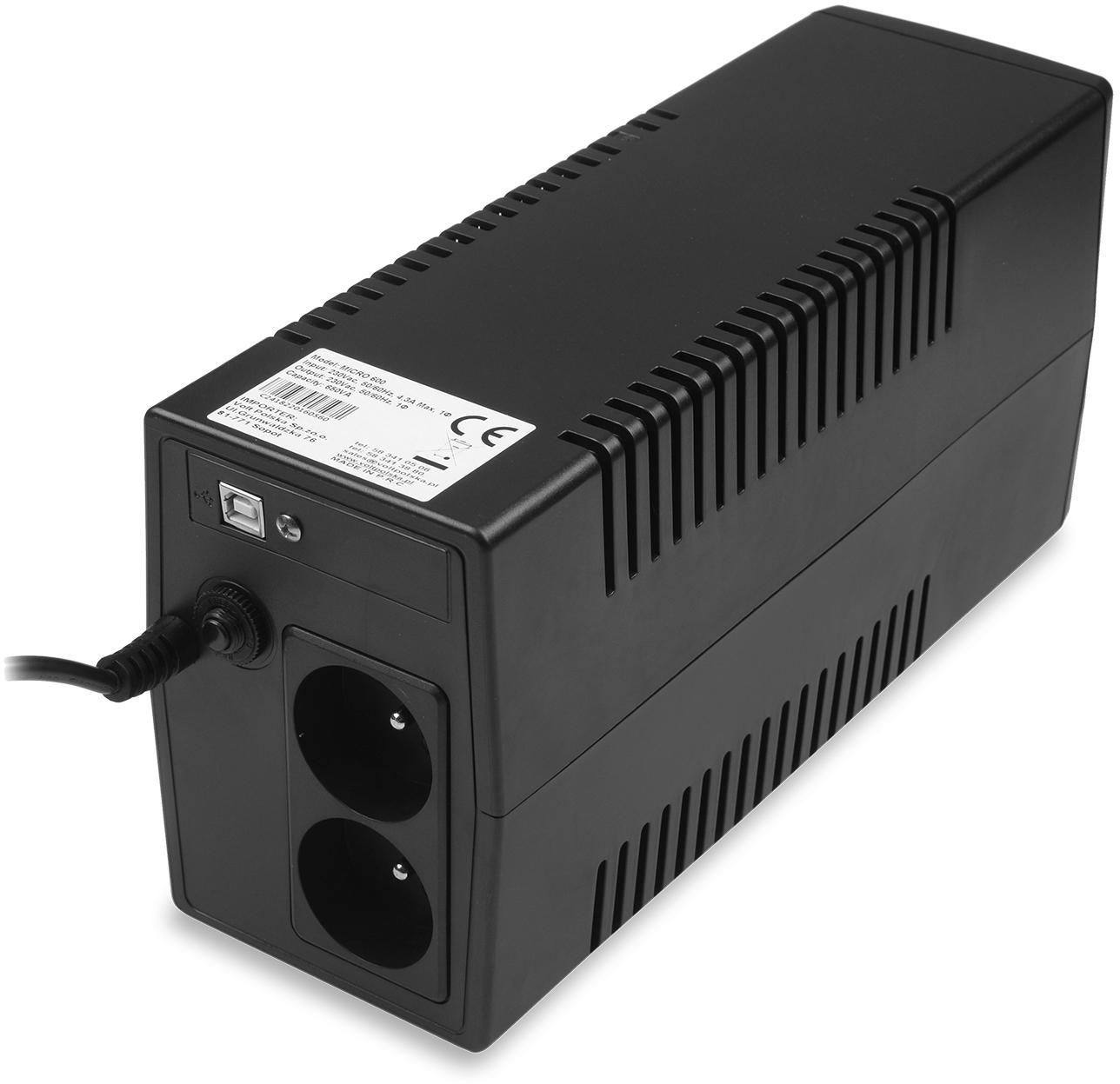 Jakie urządzenia zasila Micro UPS 600 7Ah (360/600W)?