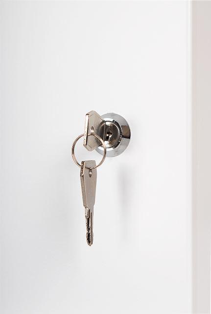 Obudowa w komplecie z zamkiem i dwoma kluczami