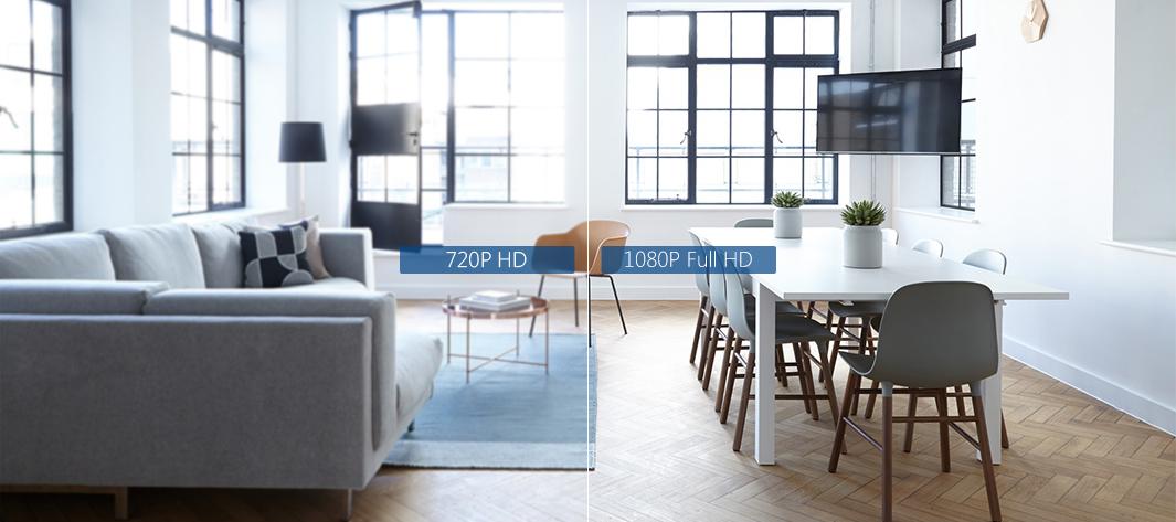 Rozdzielczość 1080P Full HD i kodek H.265